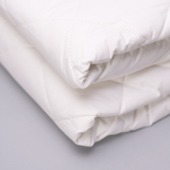 Washable Wool Mattress Pad Close Up