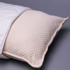 Melange Silhouette Pillow shown with Washable Wool Pillow Case