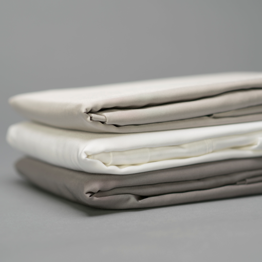 Bamboo Pillow Covers Neutral Close Up